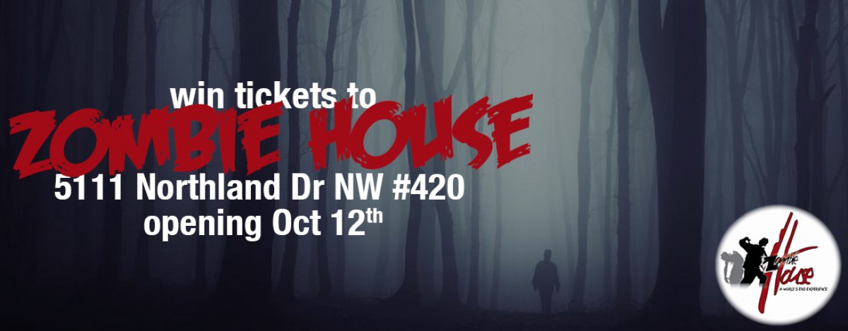 Win tickets to Zombie House